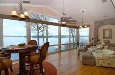 Great view! Lake Keowee, S.C Great View, Valance Curtains, Real Estate, Windows, Interior Design, Awesome, Diy, House, Ideas