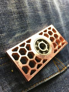 Edc Killa bee copper fidget spinner