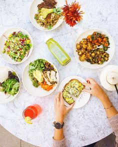 """Check out @eatflowerchild this weekend for some healthy eats in ATX! They promise to serve """"Healthy food for a happy world"""" (: @atasteofkoko ) #repost"""