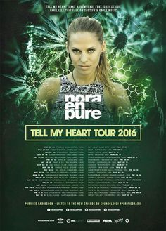 """Nora En Pure announces """"Tell My Heart Tour"""" 2016 world tour dates"""
