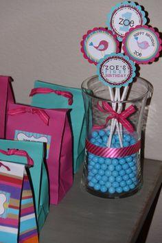 Sweet Tweet Birdie First Birthday