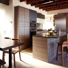 Pine Brook Boulder Mountain Residence Kitchen - modern - kitchen - denver - Mosaic Architects Boulder