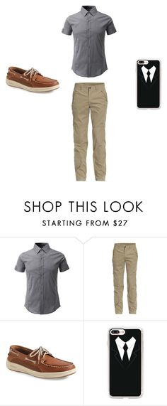 """""""England #36"""" by kreepykitten on Polyvore featuring Jeep, Sperry, Casetify, men's fashion and menswear"""