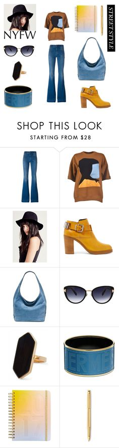 """Polyvore outfits fall """"NYFW"""" by geminae on Polyvore featuring STELLA McCARTNEY, Marni, McQ by Alexander McQueen, Michael Kors, Oscar de la Renta, Jaeger, ban.do, Caran D'Ache, StreetStyle and NYFW"""