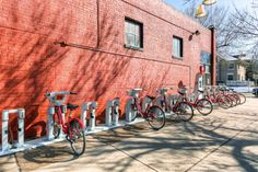 B-Cycle is an awesome bike-sharing program...there are stops throughout the Downtown Denver area where you can pick up/return bikes for a very reasonable fee.