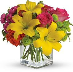 Teleflora's Sunsplash summer bouquet
