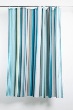 Stripe Tease 41 Artist Cotton Shower Curtain ( Waterproof ) by Michele Rondelli Wallpaper Magazine, Shower Curtains, Artist At Work, Panama, The Originals, Prints, Cotton, Printmaking, Panama City