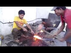Making of 'Shree 5 chirra' Khukuri - YouTube