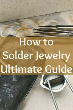 This free guide on soldering jewelry will show you everything youve always wanted to know to create beautiful soldered copper, silver, and…