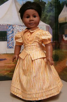 Addy's Church Fair gown. by Keepersdollyduds, via Flickr