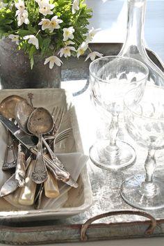 And, again, silverware...