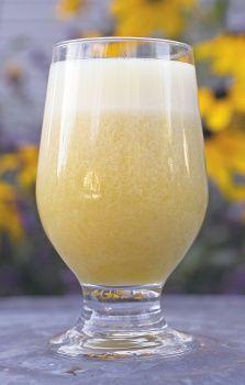 Orange-Pineapple Margarita Pineapple Margarita, Pineapple Juice, Frozen Orange Juice Concentrate, Margarita Recipes, Refreshing Drinks, Hurricane Glass, Tequila, Vanilla, Lime