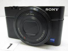 CD76FC ソニー SONY Cyber-shot DSC-RX100 ジャンク_画像1