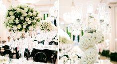 Minúcias dos arranjos florais com rosas brancas - Decoração branca por João Callas - Foto Rodrigo Sack