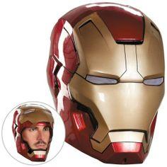 Iron Man 3 Mark 42 Helmet Adult Superhero Movie Halloween Fancy Dress Costume - http://pandorasecretsonline.com/iron-man-3-mark-42-helmet-adult-superhero-movie-halloween-fancy-dress-costume-2/