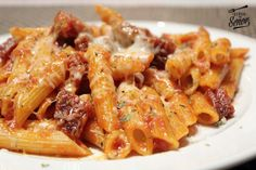 Pasta and Chorizo au Gratin Recipe Easy to make Had it the other day loved it