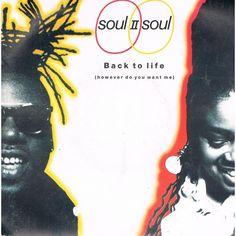 Funk-Disco-Soul-Groove-Rap: Soul II Soul - Back To Life