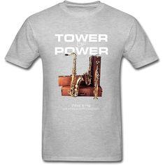 Tower Of Power, S Man, T Shirts For Women, Mens Tops, Fashion, Moda, Fashion Styles, Fashion Illustrations