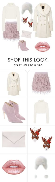 """""""snow queen"""" by poisonivy72 ❤ liked on Polyvore featuring SuperTrash, Ralph Lauren, Roberto Cavalli, Verali, claire's and Lime Crime"""