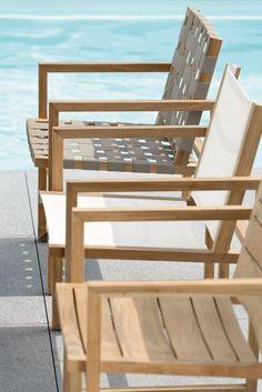 MAX krzesła z egzotycznego drewna Teak. Projekt STERN