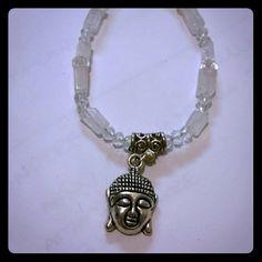 Selling this White quartz bracelet buddha in my Poshmark closet! My username is: wichiss. #shopmycloset #poshmark #fashion #shopping #style #forsale #Jewelry