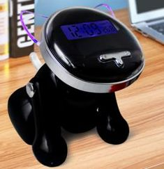 Digital LCD Projection Alarm Clock Rotatable Projector clock With USB Port Projection Alarm Clock, Clock For Kids, Cartoon Dog, Digital Alarm Clock, Tips, Counseling