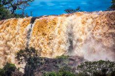 Cataratas del Iguazu , pared de agua (Water wall)