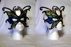 Leather Butterfly Mask by ~MirabellaTook on deviantART
