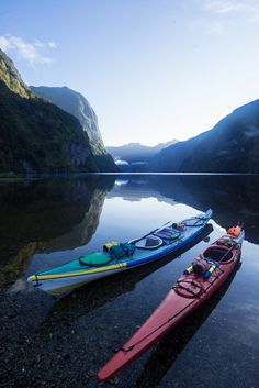 Overnight Doubtful Sound New Zealand Kayak Tour with Go Orange - bearfoottheory