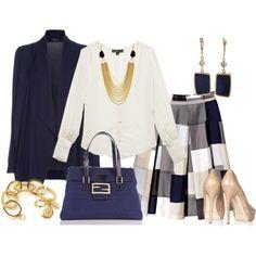 Faldas Acampanadas, created by outfits-de-moda2 on Polyvore