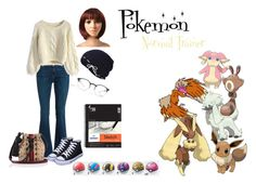 """""""Pokemon Normal Trainer"""" by amber-plasters on Polyvore featuring art"""