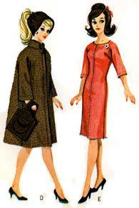 Several Free Barbie Patterns