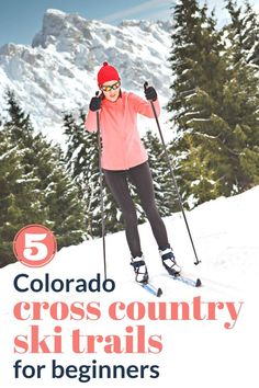 Colorado is a cross country skiing paradise for beginners and experts alike. Here are 5 trails near Denver that skiers of all skill levels will enjoy. #crosscountryskiing #coloradoskiing #missadventurepants Visit Colorado, Colorado Hiking, Backpacking Trails, Hiking Trails, Loveland Ski Area, Xc Ski, Yellowstone Camping, Skiers, Winter Hiking