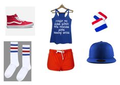 """""""Run Your Heart Out"""" by hai-i-love-oreos on Polyvore featuring Vans and Topshop"""