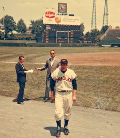 Brooks Robinson in old Memorial Stadium