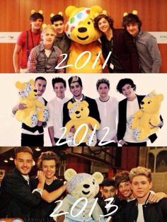 even the teddy has changed *screams in pillow*