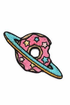 patch termocolante bordado de planeta Donut - Planet Donut