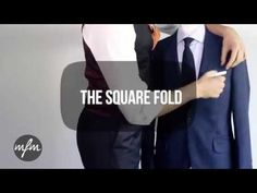 Ways To Fold The Pocket Square | Paul McGregor