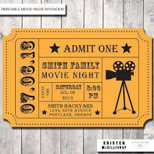 Movie Party Invitation- Admission Movie Ticket- Ticket Invitation- Movie Night Print Order Deposit or Digital File Setup for DIY Printing Invitation Ticket, Movie Party Invitations, Diy Invitations, Invitation Templates, Invitation Ideas, Birthday Invitations, Outdoor Movie Party, Movie Night Party, Movie Nights