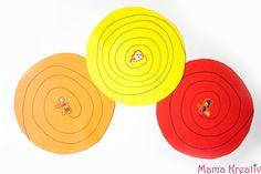Hier findet ihr 10 einfache Ideen, wie ihr mit euren Kindern schneiden lernen könnt: selbstgemachte Schneidvorlagen, Collagen, Spiele und viel mehr!
