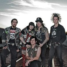 Total Chaos - For the past 20+ years Pamona Valley, CA hooligans TOTAL CHAOS have been bringing their signature brand of punk rock n roll to the four corners of the earth.