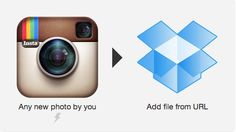"""Pin for Later: Change Your Life With """"If This Then That"""" For Avid Instagrammers Use this Recipe to back up all of your Instagram photos by sending new shots to a Dropbox file."""