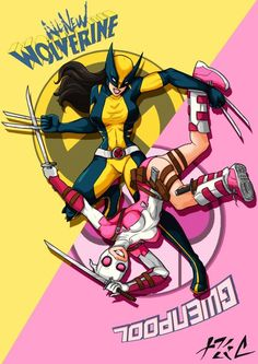 Wolverine  (Laura) & Gwenpool