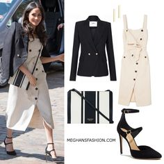 18 Apr 2018 - What Meghan Markle wore to Commonwealth Youth Forum. Click for outfit details