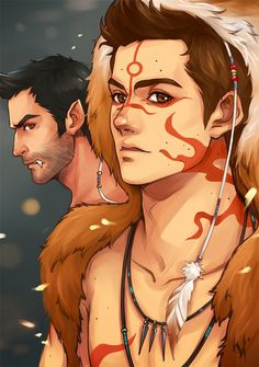 Dude! This is sooo cool! Stiles! Derek! Native American tribe?! Maybe. I don't know, but this is so awesome!