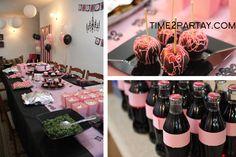 """Fashion Themed Birthday Party"""