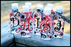 MONOGRAM Hand Sanitizer by PaintitPinkBoutique on Etsy, $3.50