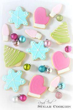 Royal Iced Sugar Cookies