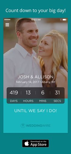 Plan your wedding on-the-go! Download the WeddingWire app for your wedding countdown, access to over 200,000 reviewed vendors & other essential planning tools.