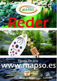 REDER MN  http://mapso.es/es/reder-cucharillas-para-pesca/119-reder-dec-oro-rojo-negro.html Fishing Spinners & Spoons